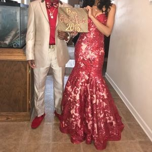 PROM DRESS for sale it's almost that time